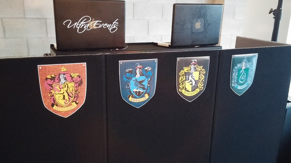 Crests on the DJ Booth